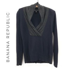 {Banana Republic} Luxury Cashmere and wool sweater